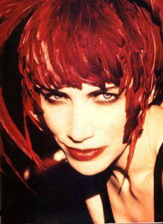 Annie Lennox by Ellen Von Unsworth Martina Mcbride, Annie Lennox, Nina Simone, Damsel In Distress, I Icon, Celine Dion, Mariah Carey, David Bowie, Lady In Red