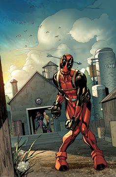 Arrow Head Deadpool 11 by MarteGracia.deviantart.com on @deviantART