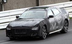 Maserati Quattroporte Spy Photos Show Rear-End Styling. For more, click http://www.autoguide.com/auto-news/2012/06/maserati-quattroporte-spy-photos-drop-some-camo.html