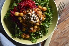 The seasoned chickpea dish chana masala, while traditionally meatless, gets a…