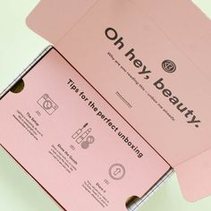 Check out the first spoilers for the upcoming Winter 2016 BeautyCon Subscription Box! Ecommerce Packaging, Brand Packaging, Box Packaging, Product Packaging, Box Branding, Beautycon, Clothing Packaging, 2 Logo, Beauty Packaging