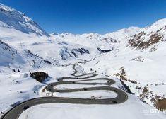 Julierpass im Engadin im Winter / Graubünden, Sschweiz