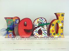 Read Wooden Craft Letters