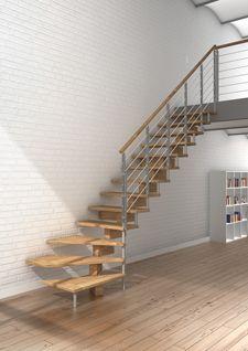 Escaleras interiores. Escaleras caracol. Escaleras helicoidales. Escaleras rectas: