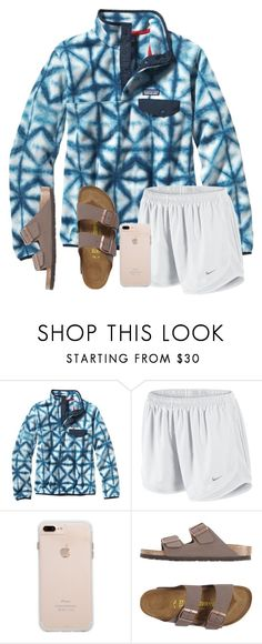 """""""(((:"""" by arieannahicks on Polyvore featuring Patagonia, NIKE and Birkenstock"""