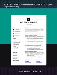 Modern Resume Template, Cv Template, Templates, Professional Resume, Cover Letter For Resume, Clinic, Lettering, Resume Maker Professional, Stencils