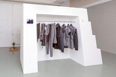 Pop-up store Design Incubator, bureau sacha von der potter, 2013, graphic design ©B.Coulon