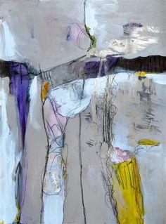 """Original art for sale at UGallery.com   Dem Bones by Kara Barkved   $500   mixed media artwork   30"""" h x 22"""" w"""