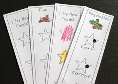 I LOVE THIS!!!!  Reward cards for trying new foods.  Can't wait to try with my extremely picky eater!!