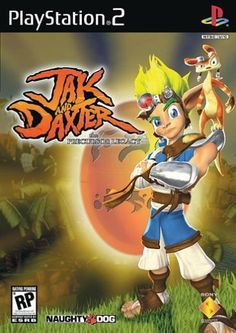 Jak and Daxter | one of my first PS2 games which I got surprisingly hooked on