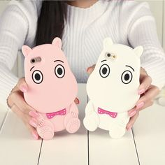 Pink/White Adorable Moomin Phone Case SP167144