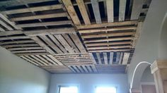 Recycled Pallet Ceiling Ideas | Recycled Pallet Ideas