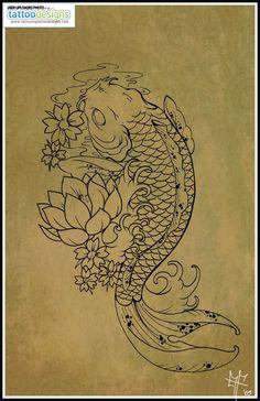 Higher Resolution Koi Carp Tattoo By Dragodelbuio Designs Interfaces Design Tattoodonkey Com