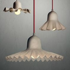 Seletti kartonnen design hanglampen Egg of Columbus