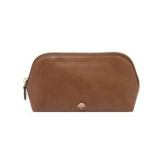 Mulberry - Make Up Case in Oak Natural Leather