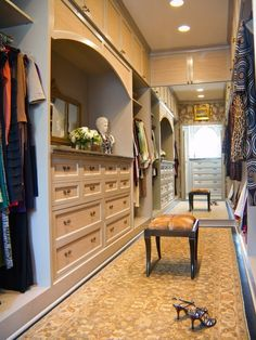 Gorgeous Closet & Dressing Room French Colonial