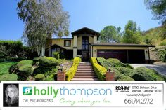 Homes for Sale in Newhall, CA Brought to you by Holly Thompson of REMAX of Santa Clarita: 24806 Rosepark Court – Exquisite Peachland Estate Residence! For more information on this listing or to view all of my listings, go to www.SVCHolly.com or contact me today at 661-714-2772 with any questions or to see this home