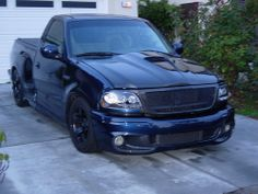 ford lightning with black body kit - Google Search