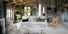 how to clad an inside wall with corrugated iron - Google Search