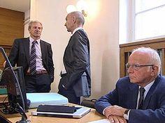 Josef Martinz von der ÖVP (links) und Steuerberater Dietrich Birnbacher sind in Sachen Hype Alpe Adria sind wegen Verdacht auf Parteienfinanzierung angeklagt!