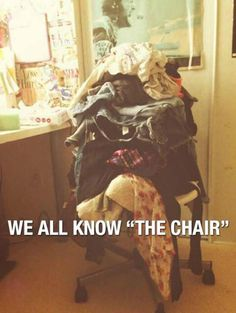 Who Needs Closets? Bah! so true