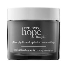 Renewed Hope in A Jar Overnight Recharging & Refining Moisturizer - philosophy | Sephora