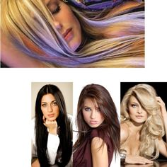 """Wide Range Of Hair Extensions"" by usa-clipinhumanhairextensions on Polyvore"