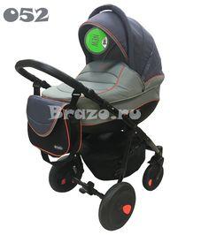 Tutis Zippy 2 в 1 New цвет 052 (серый/серый/оранжевый кант)
