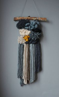 MADE TO ORDER Weaving, boho, tapestry, wool, wall weaving, woven wall hanging, wall décor, madeinpoland, tribal art, wall, handmade by mamatkamakatki on Etsy https://www.etsy.com/uk/listing/579496366/made-to-order-weaving-boho-tapestry-wool
