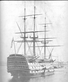 This one is a Triple-Decker Man-O-War. Ships of the Line were commonly Men-O-War