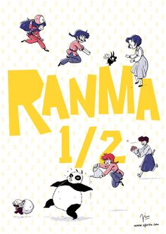 Ranma ½ My illustration for the ranmazine!!
