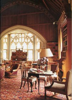 Tyntesfield House. The World of Interiors, October 2002. Photo - James Mortimer