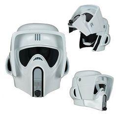 Star Wars Return of the Jedi Biker Scout Trooper Limited Edition Helmet Prop…