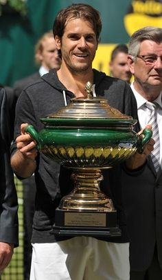Tommy Haas wins Halle