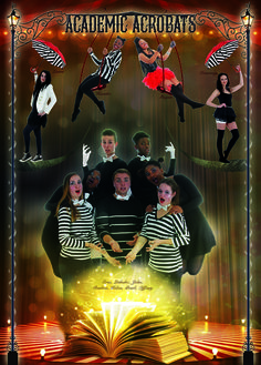 Yearbook Theme: Circus - Academics leader page