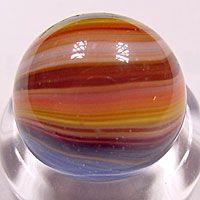 "A beautiful ""Sunburst"" sold on John's Marble site at http://www.kuzich.com/MARBLES"