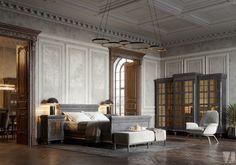 Condo Design, Loft Design, House Design, Interior Design, Bedroom Loft, Home Bedroom, Bedrooms, Bedroom Furniture Design, Loft Style