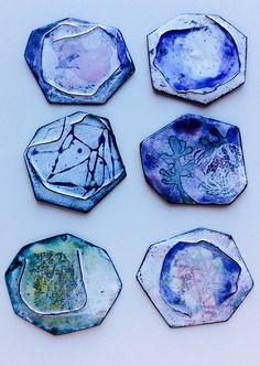 Vitreous enamels by Anne Dinan
