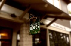 The Oregon Public House Sign sign on site