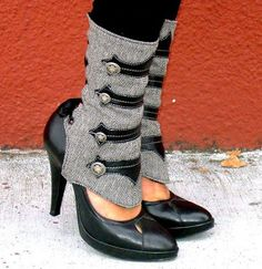 The Everyday Goth: Accessory Appreciation: Spats