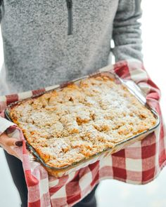 With the holidays approaching, we're in need of easy meals that are festive, flavorful and fun, like this overnight apple pie french toast casserole. French Toast Bake, French Toast Casserole, Breakfast Casserole, Breakfast Recipes, Apple Breakfast, Apple Pie Recipes, Gourmet Recipes, Mexican Food Recipes, Dessert Recipes
