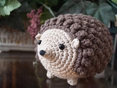 Crochet Amigurumi Pattern: Honey the Hedgehog Hedgehog