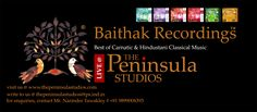 Best of Carnatic and Hindustani Classical music from #Live @ #ThePeninsulaStudios