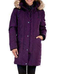 Women | Coats & Jackets | Faux Fur Mid-Length Down Parka | Hudson's Bay