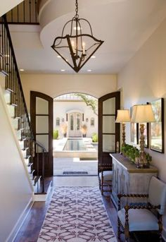 Foyer #entry #french_doors