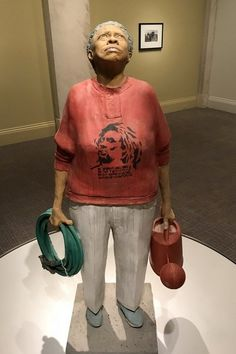The Gardener as Laborer and Artists Model by Susan Harris