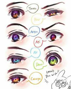 Boboiboy Galaxy, Anime Galaxy, Manga Eyes, Anime Eyes, Boboiboy Anime, Anime Art, Cartoon Movies, Cartoon Art, Elemental Powers