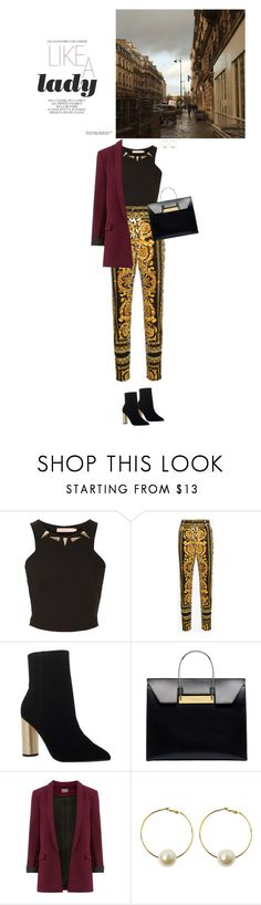 """Без названия #1789"" by anastasiiastyles ❤ liked on Polyvore featuring Oh My Love, Versace, KG Kurt Geiger, Balenciaga and StyleNanda"