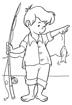 Printable fish coloring page Make your world more colorful with free printable coloring pages from italks. Our free coloring pages for adults and kids. Boy Coloring, Fish Coloring Page, Animal Coloring Pages, Coloring Book Pages, Printable Coloring Pages, Coloring Pages For Kids, Coloring Sheets, Summer Coloring Pages, Digi Stamps