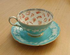 Paragon fine china teacup and saucer from ... | Tea Pot and Tea Cups